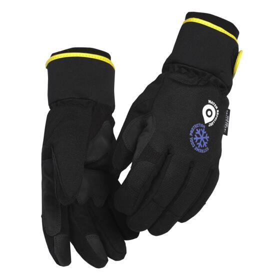 Winter-Handschuh Handwerk Schwarz