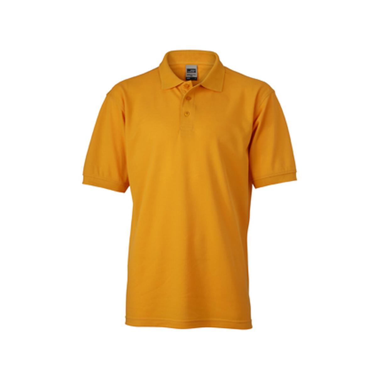 James Nicholson Men S Workwear Polo Gelb 18 42