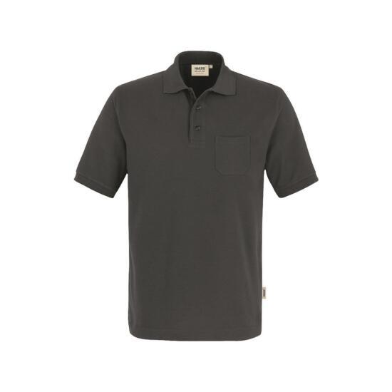 Hakro Pocket-Poloshirt Performance anthrazit