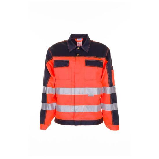 Bundjacke orange/marine