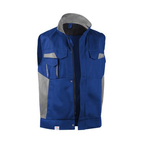 IMAGE DRESS NEW DESIGN Weste kbl.blau/mittelgrau