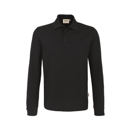 Hakro Longsleeve-Poloshirt Performance schwarz