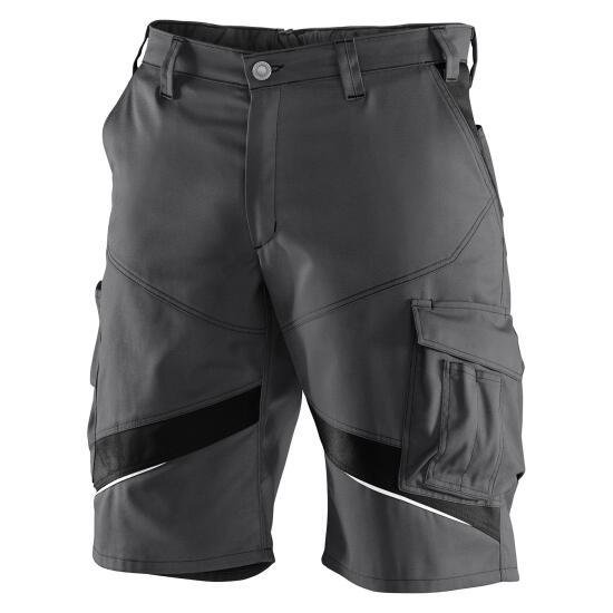KÜBLER ACTIVIQ Shorts anthrazit/schwarz