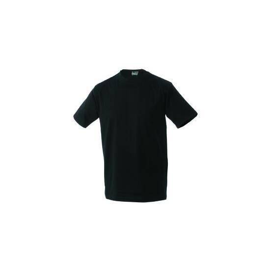 James & Nicholson Round-T Heavy (180g/m²) schwarz