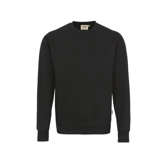 Hakro Sweatshirt Premium schwarz