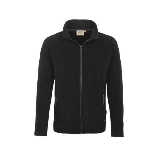 Fleece-Softshell Jacke schwarz/schiefer