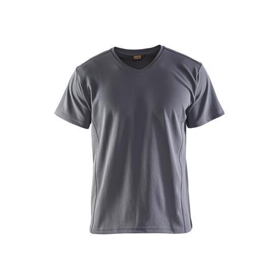 T-shirt UV-protection Grau